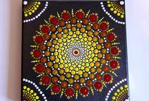 Mandala toiles
