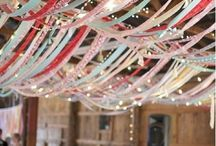 Wedding DIY, Craft and Ribbon Ideas / Crafting your own wedding and using ribbon in wedding decor, bouquets, floral arrangements and cakes.