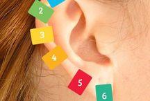 Douleurs oreilles épingle à linge