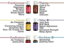 Essential oils / Which oils for what? / by Marie Brand