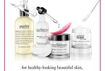 cleanse, peel, treat / give skin the daily nourishment it needs, and reveal your most beautiful skin. / by philosophy