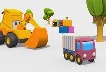 Cartoni animati: giocare & imparare