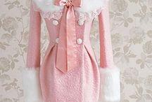 pink dress coat ♡