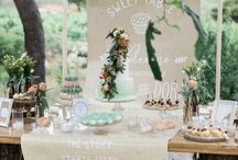 DIY backyard summer wedding in Athens