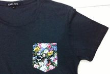 #1 Frocket / Dropping our first collection this year, Frocket (Floral Pocket Tees)