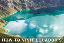 Ecuador Travel / Tips, advice, and things to do during your travel to Ecuador. Galapagos Islands | Quito | Guayaquil
