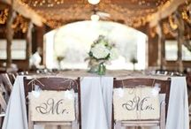 Farm Wedding Ideas / These would be cute here...