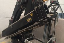 Used knuckle boom crane Hiab 122 B-2 CL / Knuckle Boom Loader Cranes for Sale