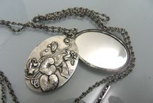 Mirror Pendants Jewelry - Vintage Charms & Bracelets