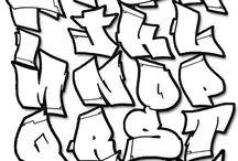 ABC GRAFITTI / Abecedarios de Grafitti