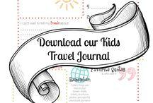 Travel journal print