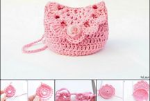Cute crochet purse
