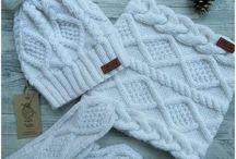 Вязание.