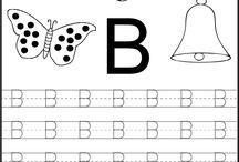 Bogstaver / Indskoling bogstaver letters alfabetet