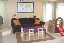 Kid friendly living room ideas