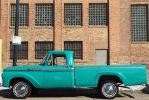 Vintage Pickup truck / Bliss truck rental