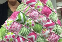 Ruffled quilts