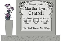 Individual Granite Monument Designs / Granite headstones from http://www.thecasketstore.com are fully custom designed. Talented graphic designers will create exactly the marker you want.