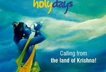 Calling from the land of Krishna!