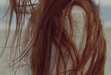 RED  HAIR / Red hair. Girl. Portrait