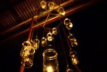 candelabro frascos