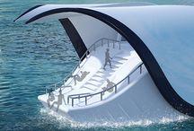 yacht organic concept