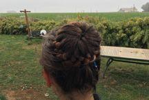Mes coiffures (tresses, ...)