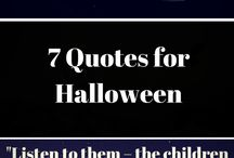 Halloween Fun - Crafts, Quotes and More! / On this board I collect and share all the pins i love that focus on Halloween and autumn and the fall season! From recipes, to fun toddler and pre-school crafts, you'll find it all here!