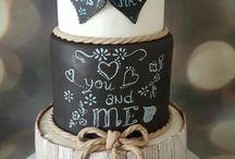 kütüklü nişan pastası