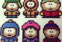 Hama / Perler South Park
