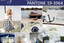 Midnight/Monaco/Mykonos/Navy blue wedding ideas / by Chastity Watkins