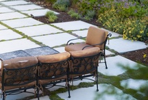 """Patio ideas / *DISCLAIMER* These are """"PINS"""" reflecting personal interest. I don't claim copyright or ownership of any content on this board. I give proper credit whenever possible. If work posted here is yours, please let me know and I will happily credit you. / by Terrie Cichon"""