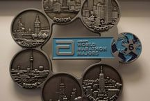 Marathon Medals / A collections of medals from the various marathons held across the world
