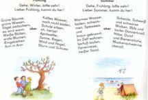 Deutsch - Gedichte