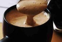 Chocolate quente e Cafés