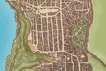 Карта Фентези