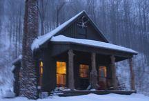 Winter Cabins...like!!!