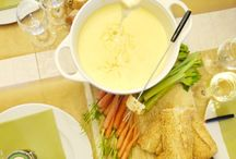 Fondue Party / Fondue makes a perfect party food for big or small parties. We have recipes and ideas.