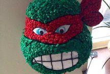 Ninja turtle birthday ideas / My sons 4th birthday party