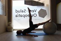 Pilates Vera-Salud / Posturas y ejercicios de Pilates