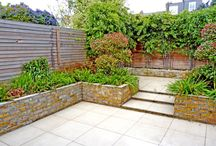 Dale by Really Nice Gardens / We designed this garden to be simple and low maintenance. The boundaries were made more attractive and 2 distinct areas created.