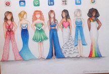 moda çizimleri
