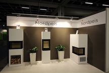 Nordpeis pictures from Habitare 2015 Helsinki Finland / Nordpeis wood burning stoves from Habitare exhibition