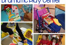 Preschool Centers / Ideas for center activities in a preschool or homeschool classroom