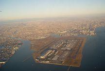 Air Planes & airports 飛行機や空港 / 航空機、飛行場