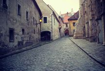 Old Towns of Central and Eastern Europe / Highlighting the old town areas in cities of Central and Eastern Europe.