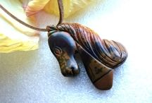Shaped & Carved Pendants / All available on my Facebook and Google+ pages (Pendant-Heaven) - no longer on ArtFire