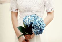 Ramos de novia azul / Si te atreves con este color aquí tienes ideas para elegir tu ramo leavesdesignleaves@gmail.com