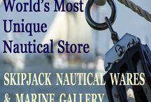 Skipjack Nautical Wares in Historic Olde Towne Portsmouth, VA / Views of Skipjack Nautical Wares showroom located in historic Olde Towne Portsmouth, Virginia.