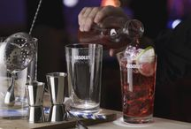 Absolut Vodka Drink Recipes / Browse these beautifully animated pins to find delicious vodka cocktails for your own drink collections. / by Absolut